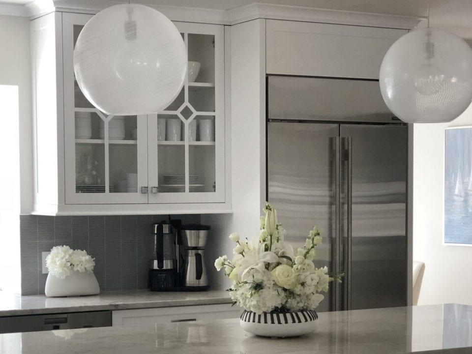 Kitchen Round Custom Light Fixtures