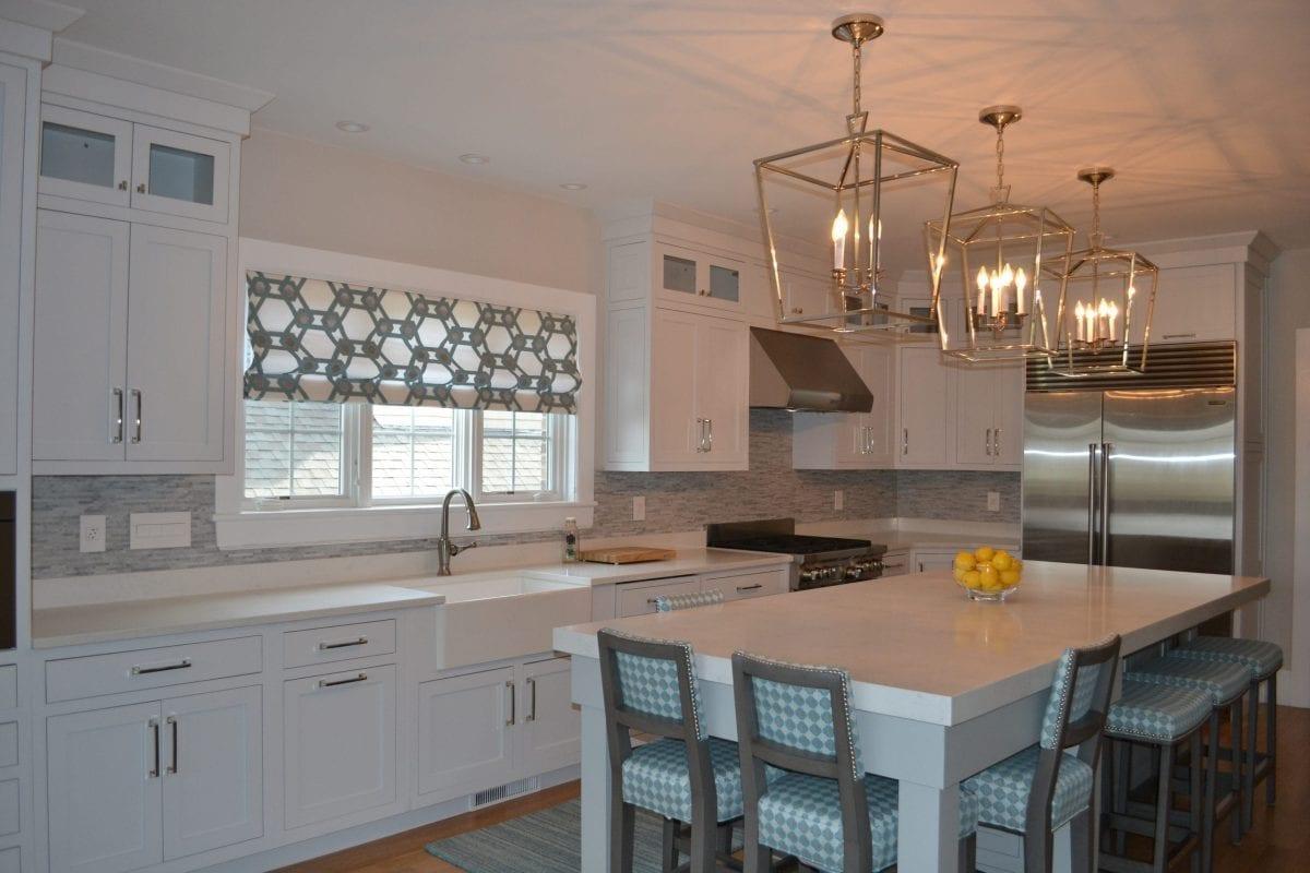 Kitchen Custom Light Fixtures & Interior Design Services